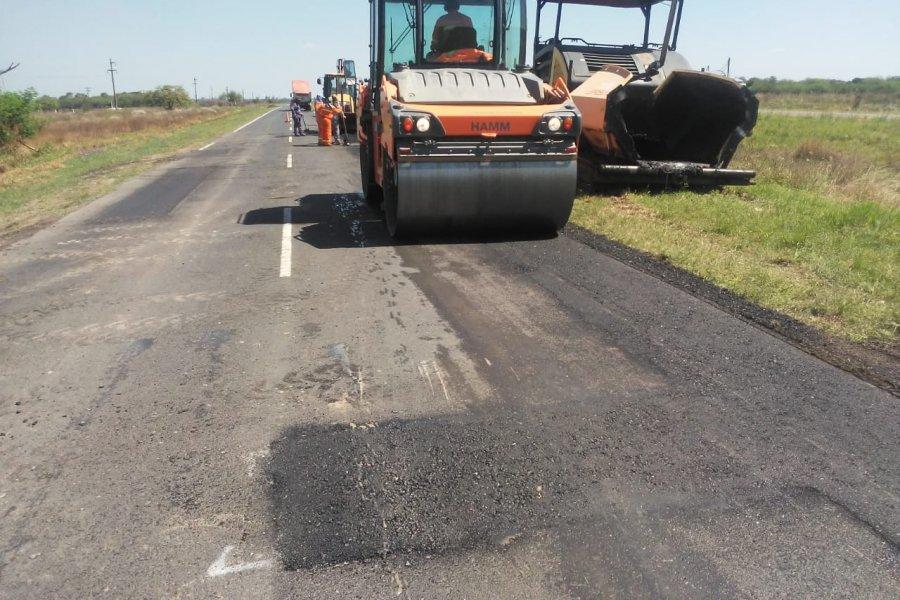 Nación avanza en la recuperación de la Ruta 11, entre Chaco y Formosa