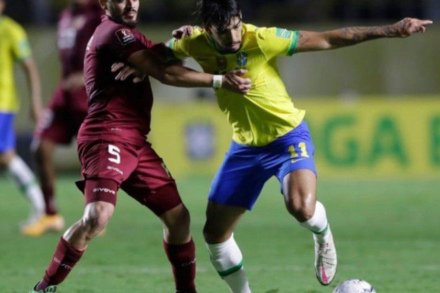 Brasil se lo dio vuelta a Venezuela y mantuvo puntaje perfecto