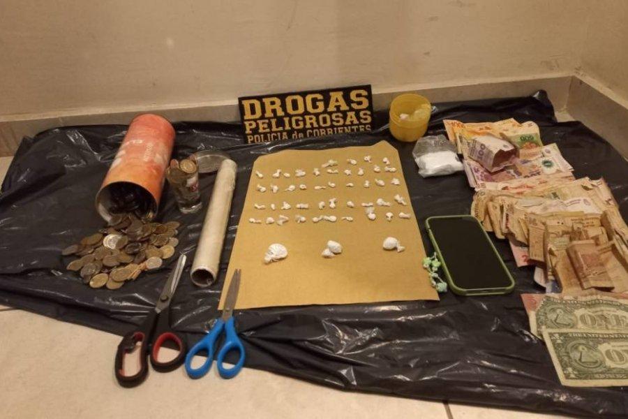 Detuvieron a un joven que vendía cocaína en monopatines