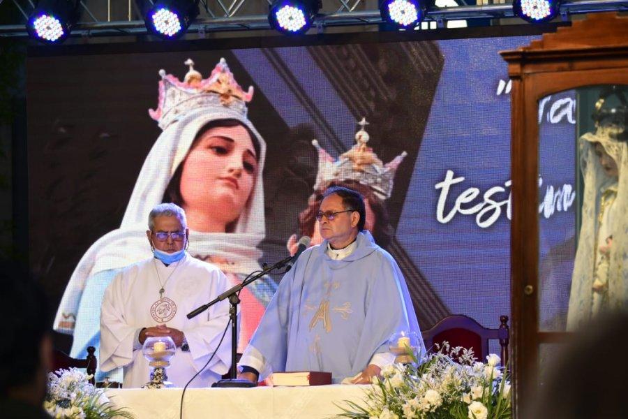 Goya honró a la Virgen del Rosario y recordó un nuevo aniversario de su elevación al rango de ciudad
