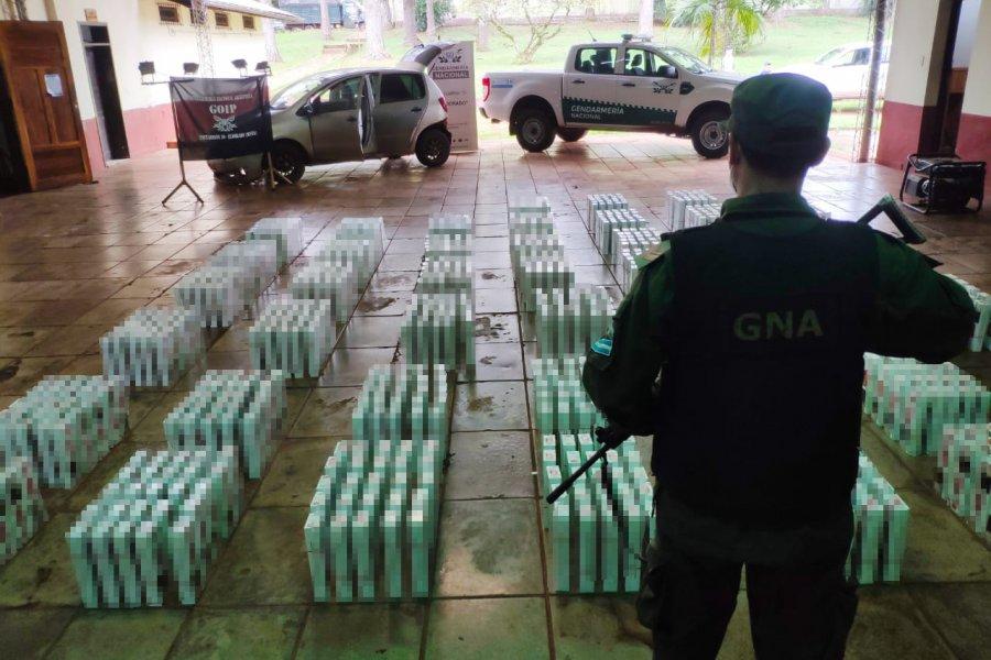 Misiones: Intentó huir con 11.500 atados de cigarrillos extranjeros en su vehículo
