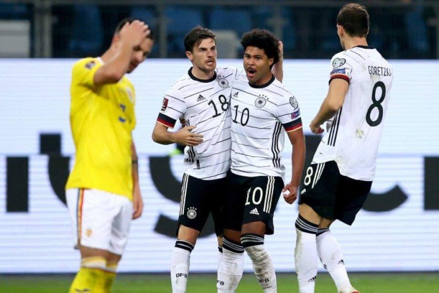 Alemania venció a Rumania, por Eliminatorias UEFA