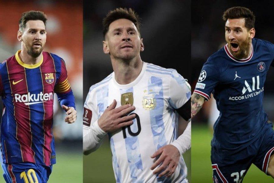 Messi, candidato al Balón de Oro: sus números en 2021 y cómo le fue cuando lo ganó