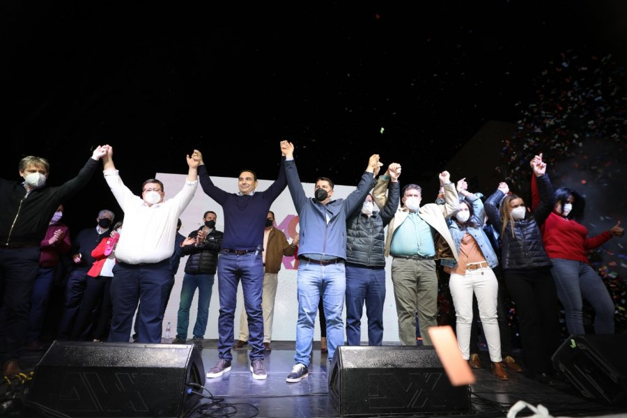 Valdés llevó su apoyo a la mejor fórmula en Paso de los Libres