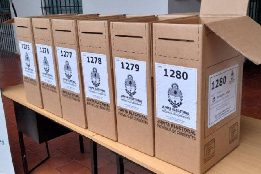 Mariano I. Loza: Entregan las urnas para el desempate de mañana