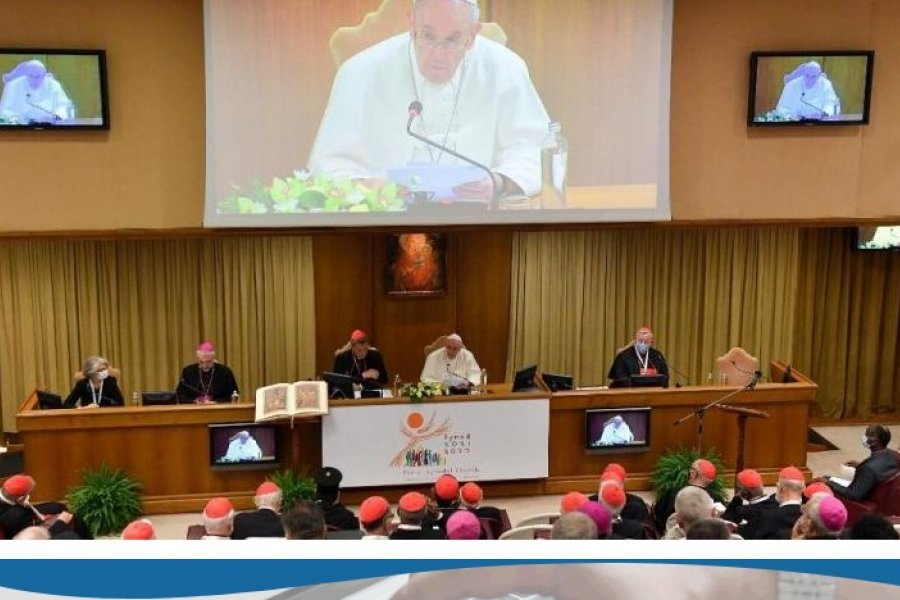 El Papa: El Sínodo un compromiso eclesial indispensable