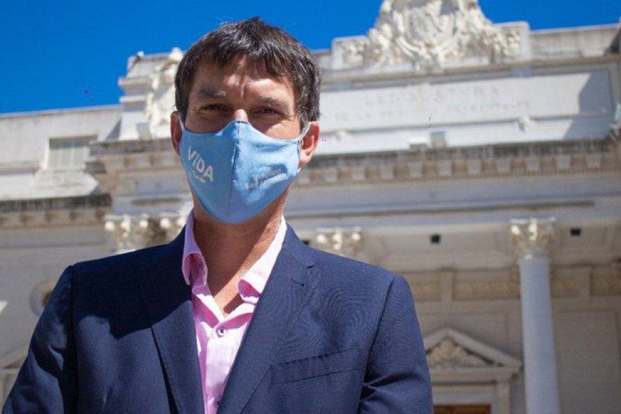 Un diputado no quiere vacunarse y no lo dejan participar de las sesiones presenciales