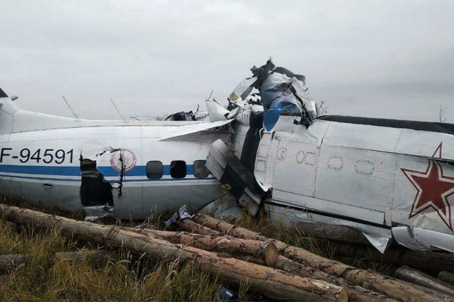 Rusia: Murieron 15 personas al estrellarse un avión