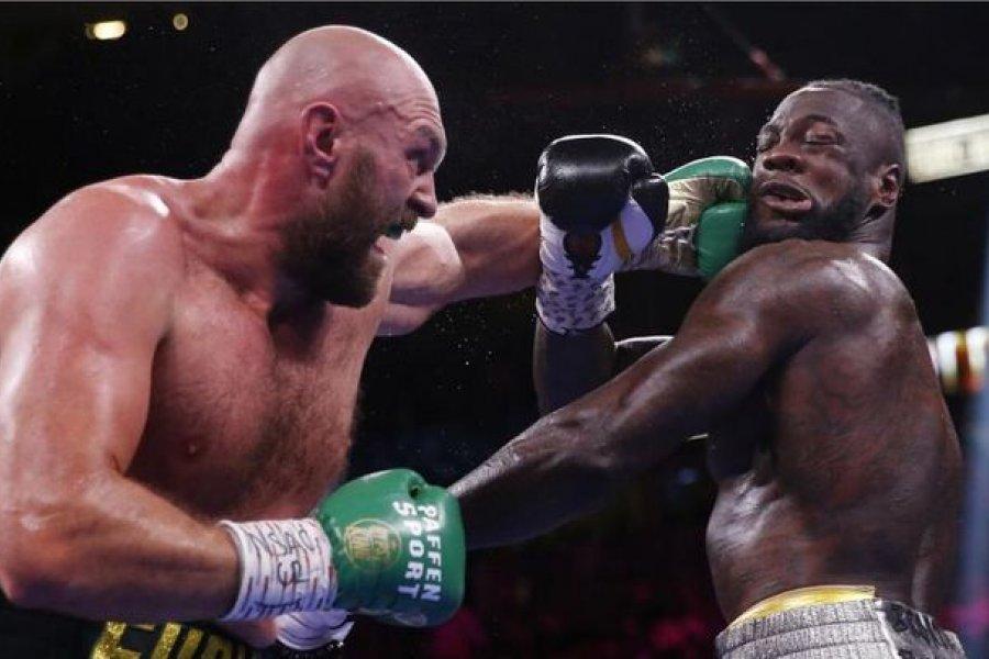 Tyson Fury le ganó por nocaut técnico a Deontay Wilder
