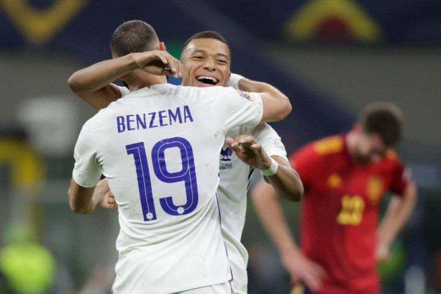Francia venció a España y se quedó con la Nations League