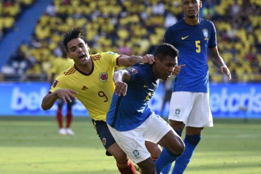 Colombia le robó a Brasil los primeros puntos de las Eliminatorias Sudamericanas