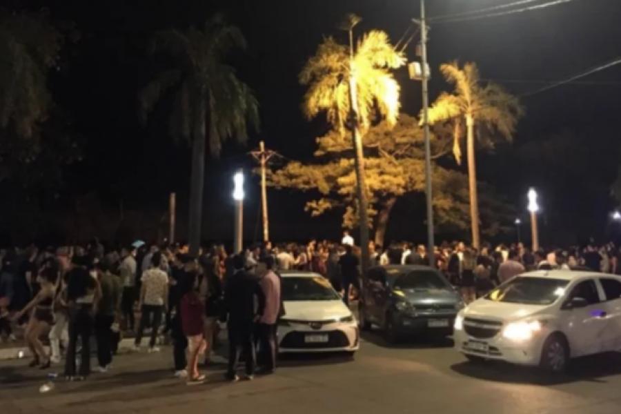 Una noche sin pandemia en Corrientes