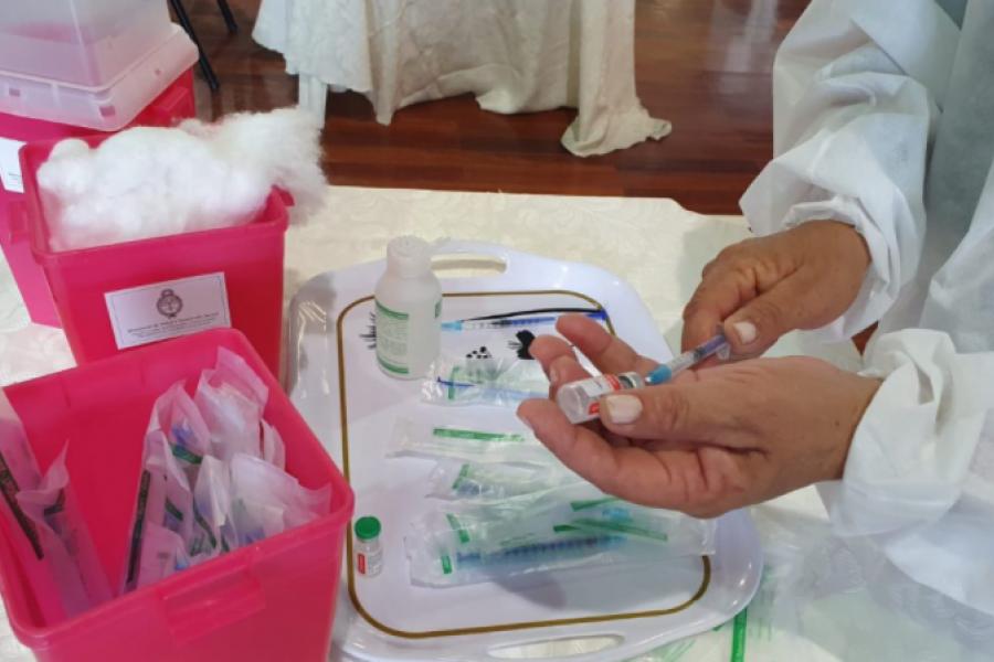 Vacunación: Otorgan los primeros turnos para niños de toda la provincia