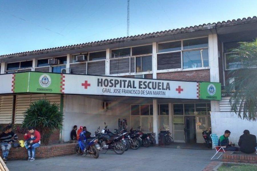 Corrientes: Hubo un positivo Covid en Terapia Intensiva del Hospital Escuela