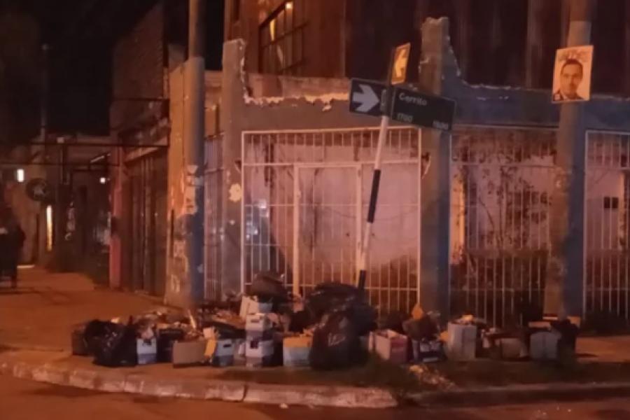 Quejas por los residuos de un bar exclusivo en Capital