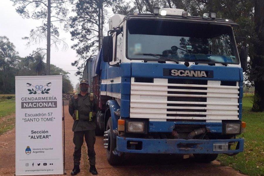Corrientes: Trasladaban ilegalmente  65 toneladas de soja  en camiones