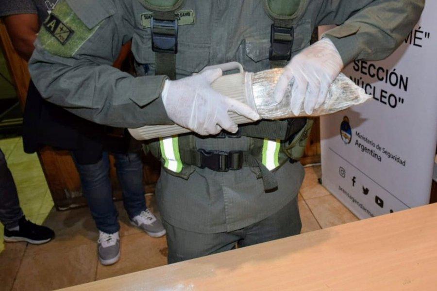 Corrientes: Un pasajero ocultaba marihuana dentro de un termo