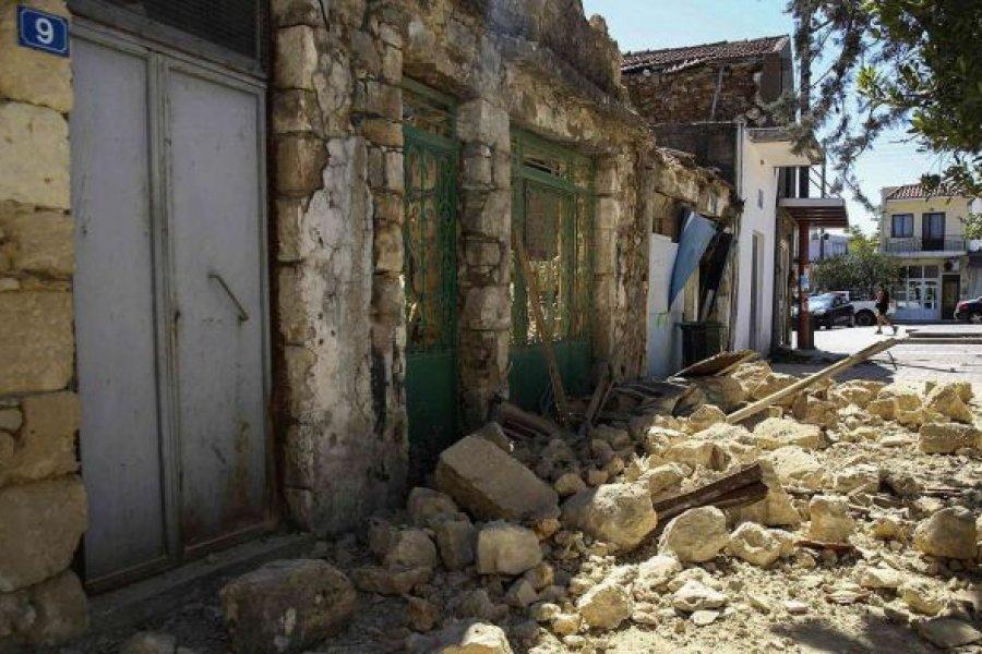 Un sismo de 6,3 grados causó pánico en una isla de Grecia