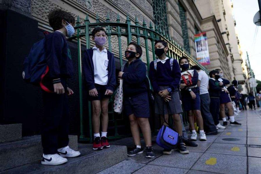Las clases en Buenos Aires comenzarán el 21 de febrero