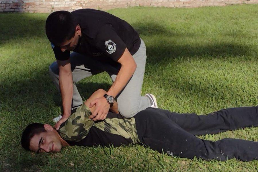Continúa la capacitación anual de competencias policiales