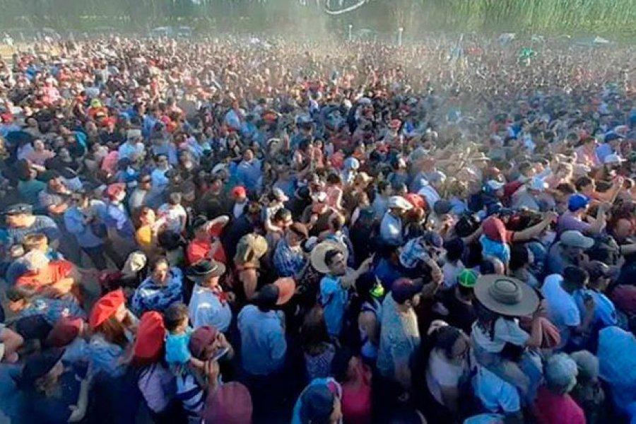 Río Negro: Descontrol en una jineteada con 6 mil personas sin barbijo