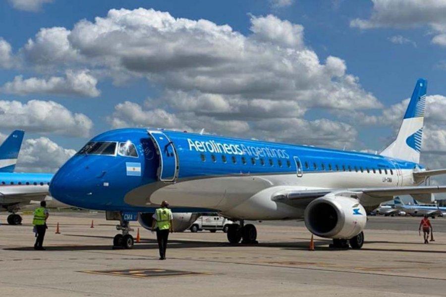 Aerolíneas Argentinas tendrá 21 vuelos semanales entre Mar del Plata y Buenos Aires