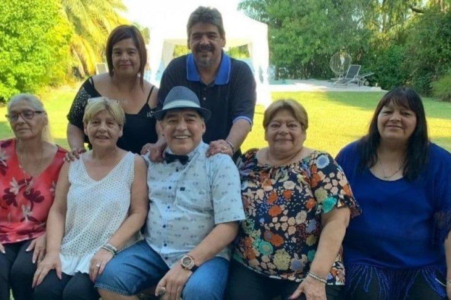 Declararon las hermanas de Maradona como testigos en la causa por la muerte del astro