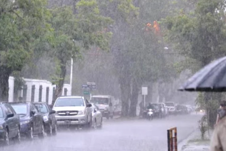 Las lluvias continuarán este jueves en Corrientes