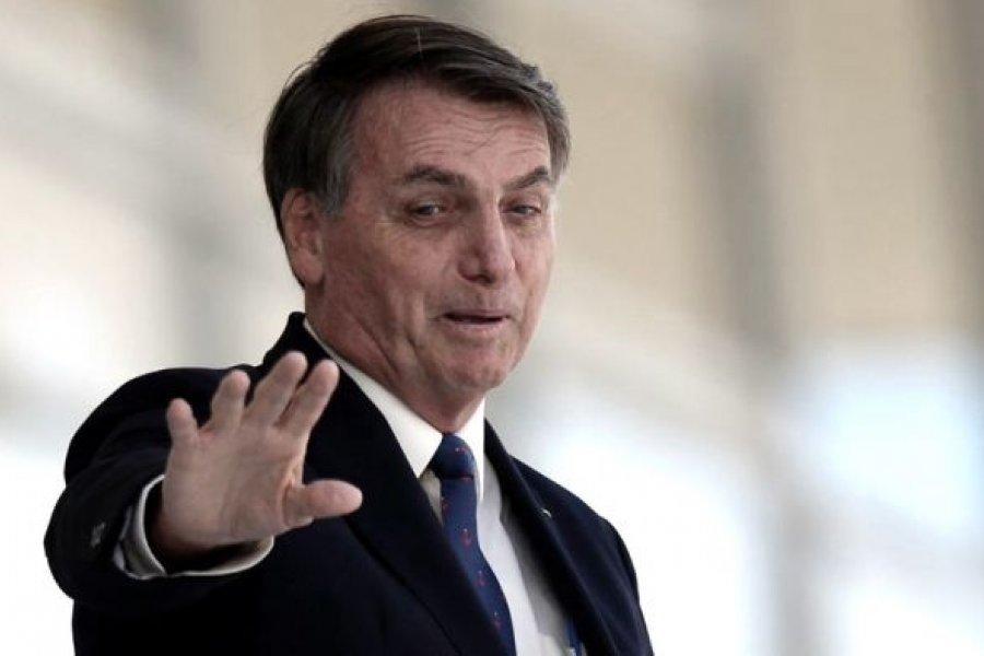 Bolsonaro anunció que no se vacunará contra el coronavirus