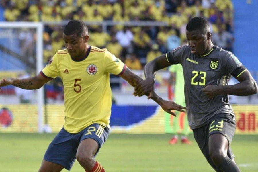 Colombia y Ecuador, un empate con VAR y escándalo en Barranquilla