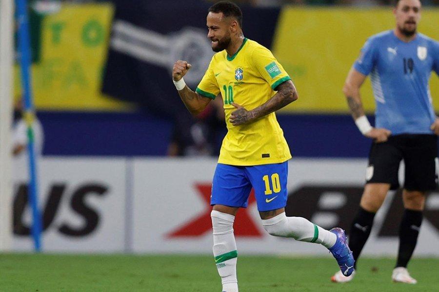Brasil lo definió rápido ante Uruguay con un Neymar inspirado
