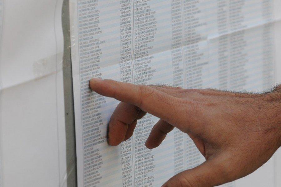 Ya está el padrón definitivo para las elecciones del 14 de noviembre