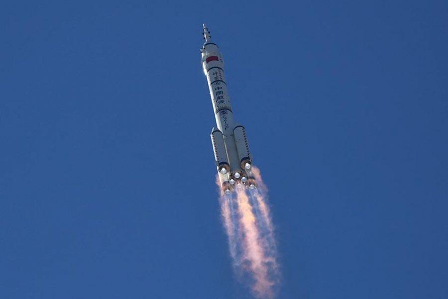 Despegó la misión espacial tripulada más extensa de China