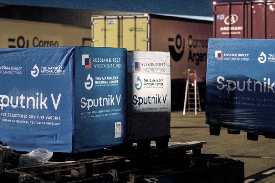 Llegaron al país 500 mil dosis del segundo componente de Sputnik V