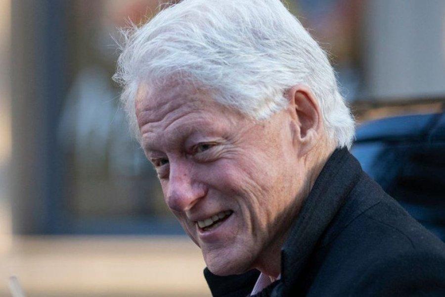 """Bill Clinton internado: """"Está recuperándose y con buen ánimo"""""""