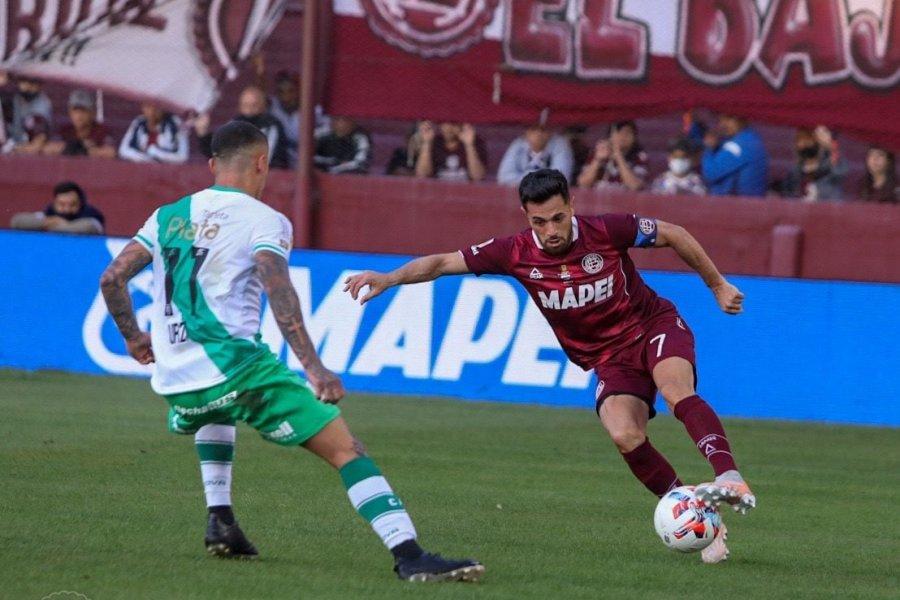 Con gol del correntino López, Lanús empató con Banfield