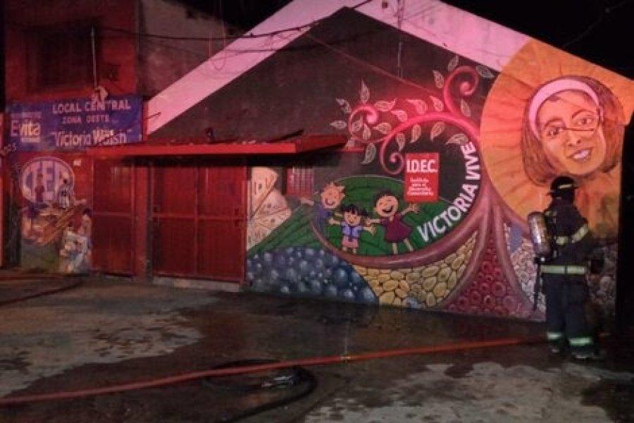 Trágico incendio: murieron cuatro personas, dos de ellas menores de edad