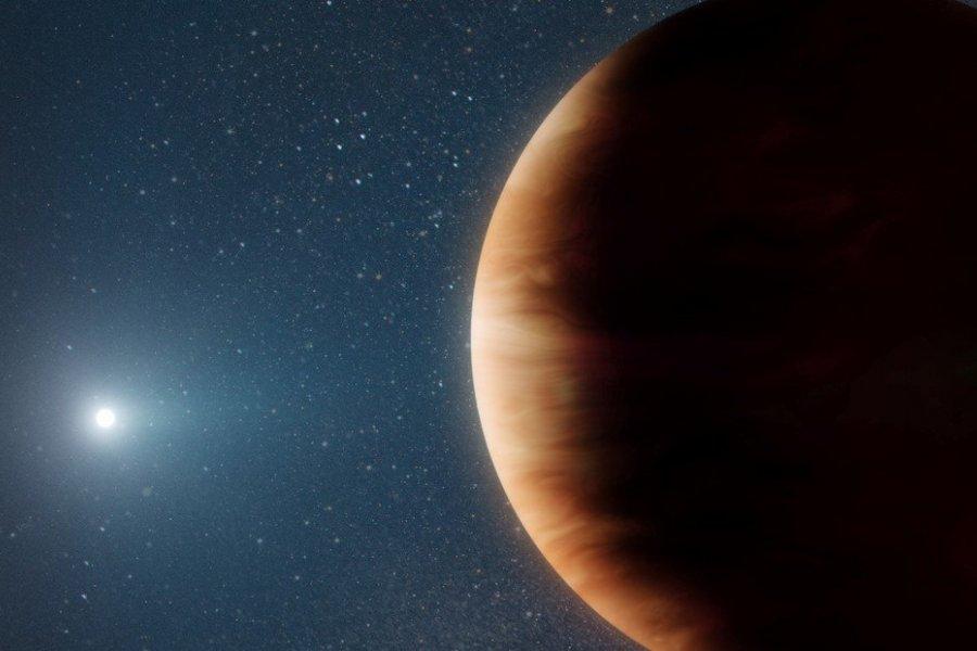 Descubren un planeta que sobrevivió la muerte de su estrella