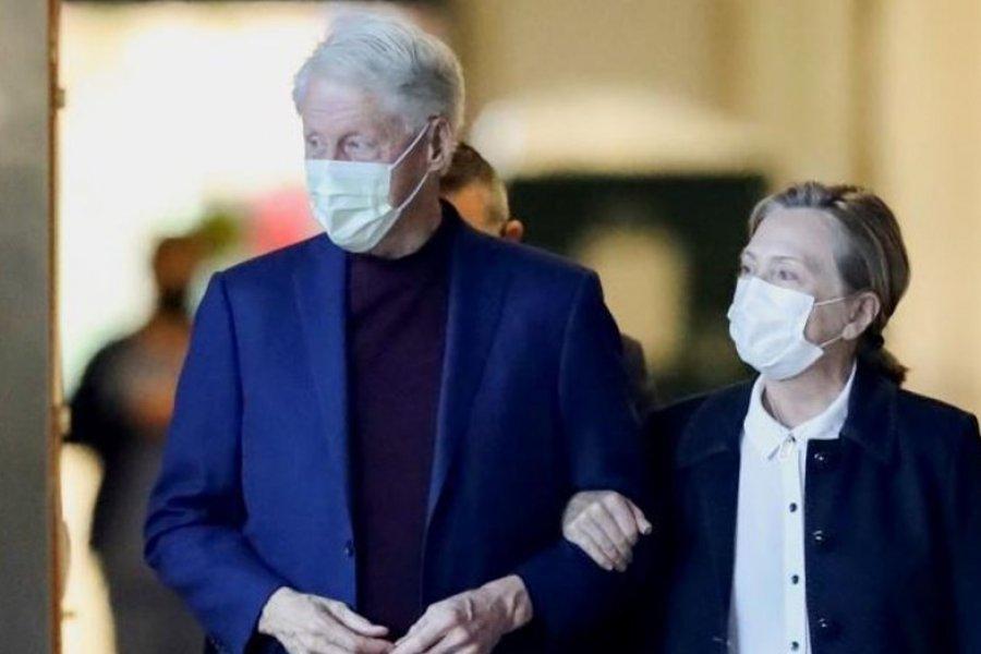 Bill Clinton fue dado de alta tras pasar cinco días internado por una infección