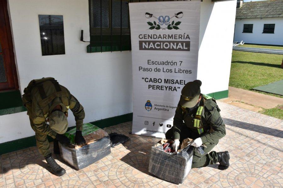 Corrientes: Gendarmería incautó más de 24 kilos de marihuana en encomiendas