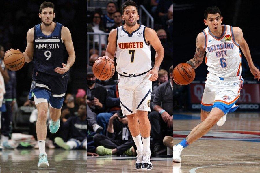 La NBA más argentina desde la salida de Ginóbili