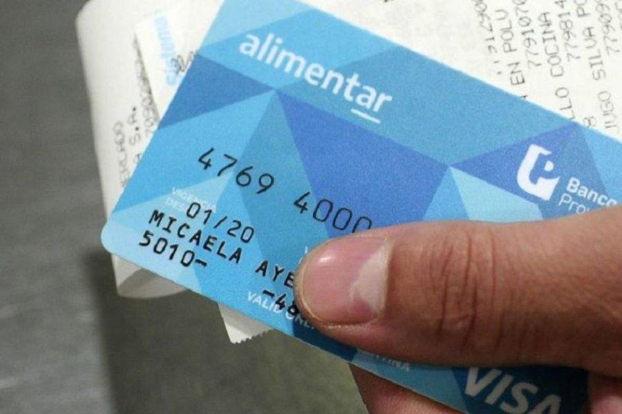 El dinero de la Tarjeta Alimentar podrá utilizarse para todo tipo de gasto