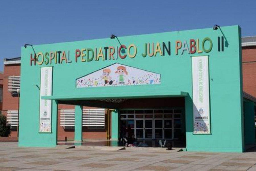 Covid en Corrientes: Un menor fue internado en el Juan Pablo II