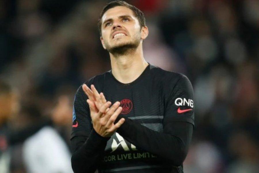 No se siente capaz de jugar: máxima preocupación en PSG por Mauro Icardi