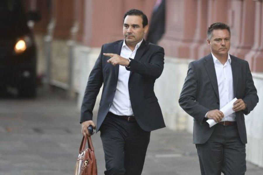 El Gobernador Valdés se reúne con Juan Manzur en Casa Rosada