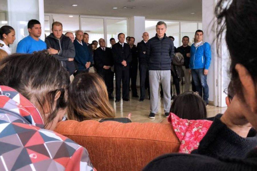 Familiares de víctimas del ARA San Juan piden la detención de Mauricio Macri