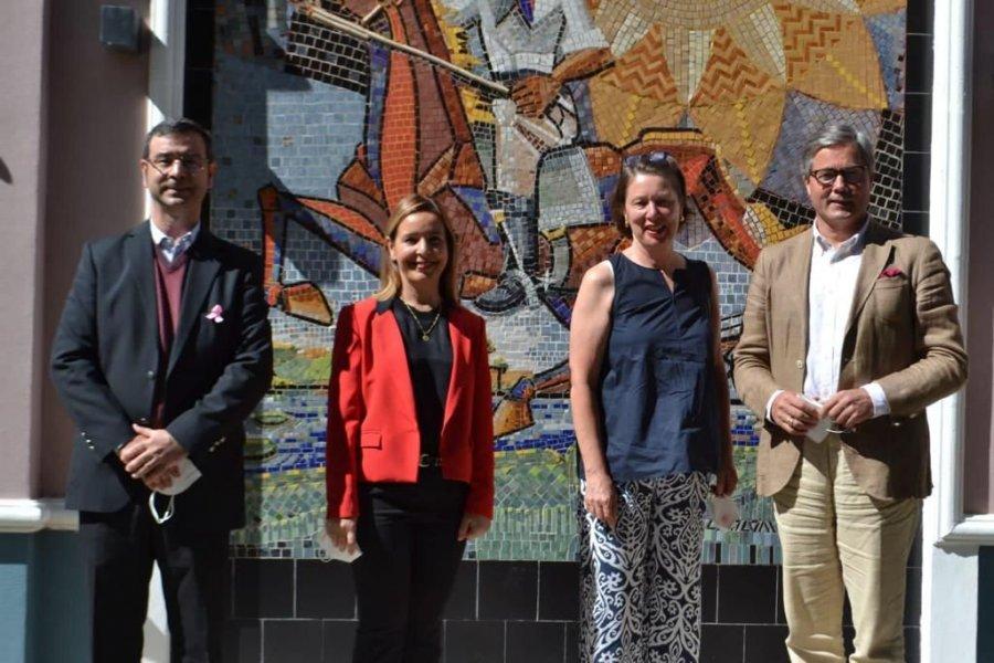 El Embajador de Alemania en Argentina visitó Riachuelo