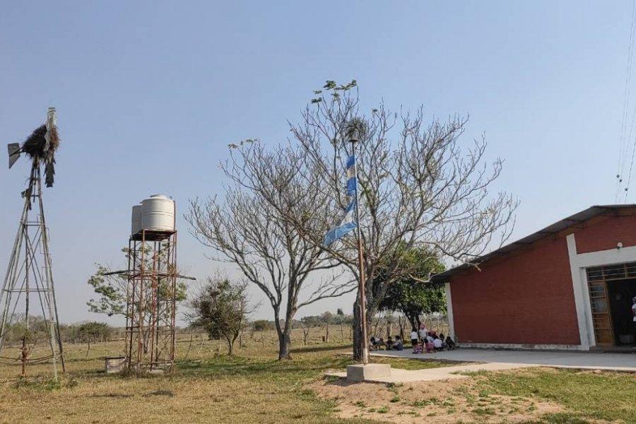 Robaron la bomba de agua de una escuela rural