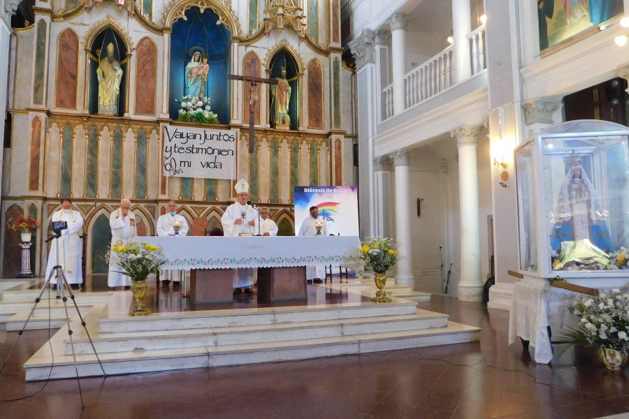 Comenzó la novena para celebrar el año jubilar diocesano