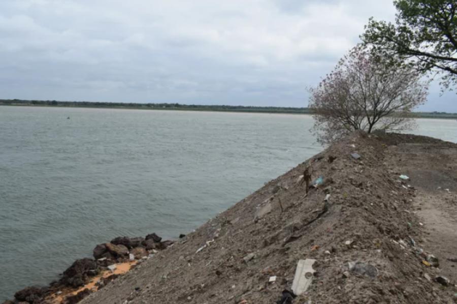 Reconstruyen las barrancas en la costanera General San Martín